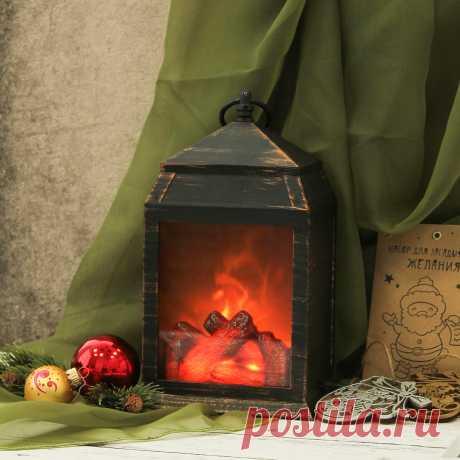 Новый год, огни, елка, тепло, светильник-очаг Уют...  Камина нет, поэтому для меня праздничная атмосфера выглядит именно так! Оказывается, поднять настроение очень просто - достаточно полюбоваться умиротворяющем пламенем~