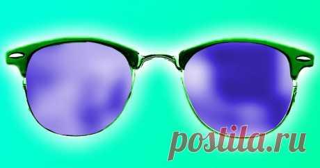 Офтальмолог показал, как видят мир близорукие Они не видят грязь.