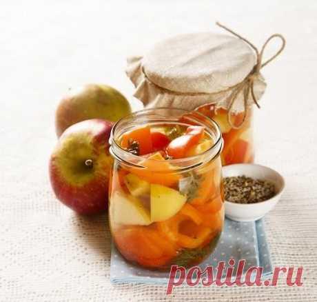 Перец с яблоками: необычная заготовка на зиму. Рецепт