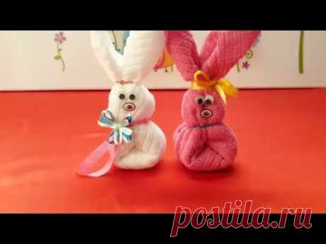 How to make of a figure towel?.. подарок..  Как сделать из полотенца фигурки? - YouTube