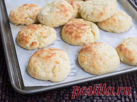 Картофельное печенье постное рецепт с фото - 1000.menu