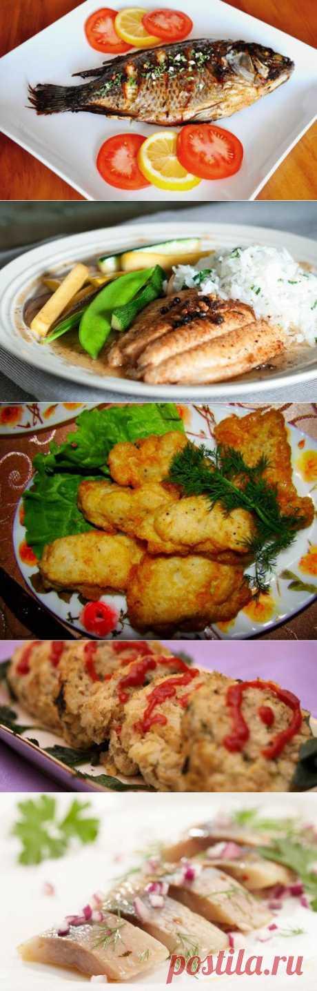 Рецепты рыбных блюд к пасхальному столу