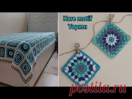 Вязаные крючком узоры покрывал для кроватей / простое детское одеяло / квадрат бабушки  вязанные покрывала, мотивы крючком https://www.youtube.com/playlist?list=PLdPAKoyTpm-rk1Za1KR0P9_3LPUHhzLXp