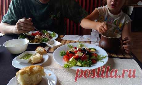 Обед в Украине