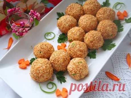 Салатные шарики – это простая и оригинальная закуска, которая станет украшением любого стола.