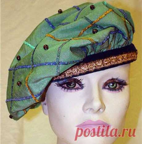 How to sew a beret or a kepi. Patterns, councils for tailoring \u000a\u000aFor end of a women's suit there is often not enough headdress - a beret or a kepi. And sometimes, the beret becomes also the main decoration of all ensemble of a suit. To buy a ready beret quite difficult, posk …