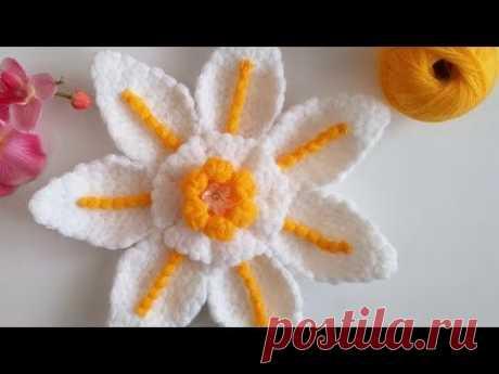 Davet çiçeği lif modeli - YouTube