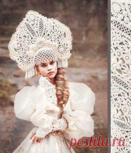 Невероятные кокошники русских красавиц — DIYIdeas