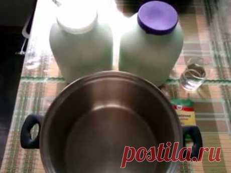 Домашний твердый сыр | Рецепт твердого сыра Панир