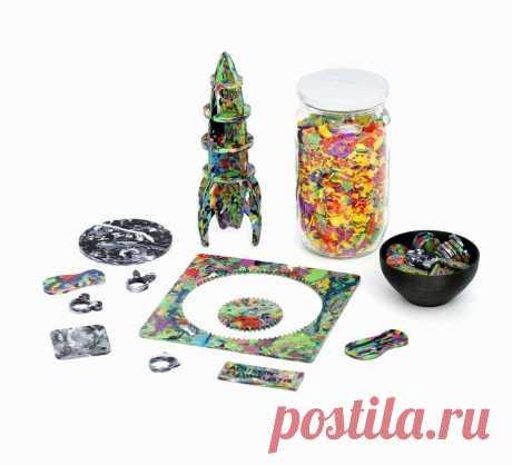 Smoothie plástico - Reciclaje de plástico DIY: 7 pasos (con fotos)