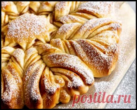 """В старом французском журнале нашла """"Звездный яблочный пирог"""" - он не только вкусный, но и очень красивый!"""