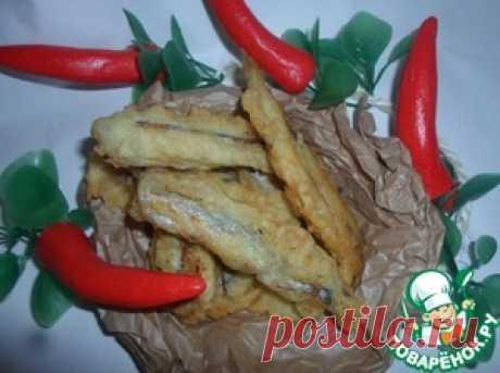 Темпура из мойвы - кулинарный рецепт