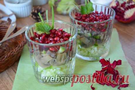 Салат с утиным мясом и гранатом рецепт с фото, как приготовить на Webspoon.ru