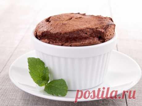 Нежное шоколадное суфле — Sloosh – кулинарные рецепты