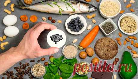 Как улучшить память: правильный рацион питания для мозга   Блог Юрия Просолупова