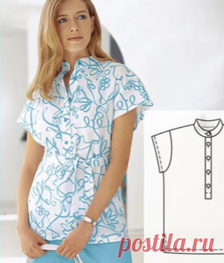 Две выкройки летних блузок | модница | Яндекс Дзен