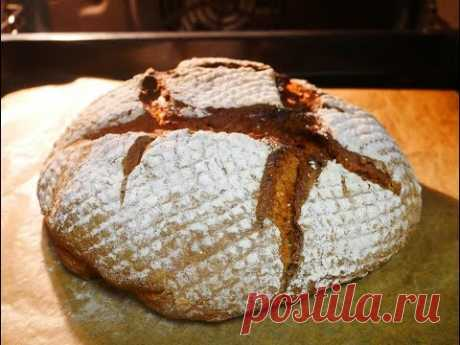 The recipe of RYE ferment for baking WITHOUT BARMY BREAD