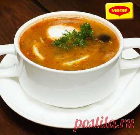 Сборная грибная солянка - Надо приготовить! Грибная солянка — аппетитный и наваристый суп, который имеет простой рецепт приготовления. Мы расскажем, как приготовить грибную солянку быстро и без особых хлопот.