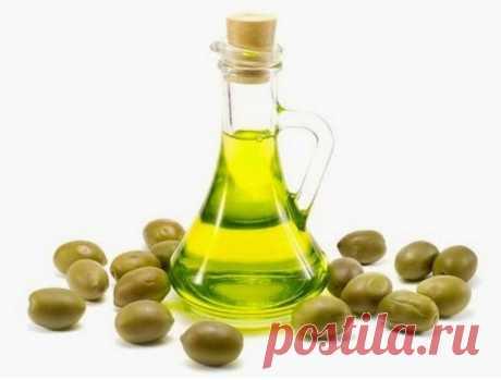 Оливковое масло от морщин — Мегаздоров