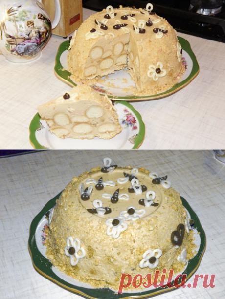 Cake Medovik - NONCONVENTIONAL! - Babyblog.ru