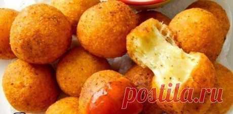 Как приготовить изумительные сырные шарики - рецепт, ингредиенты и фотографии