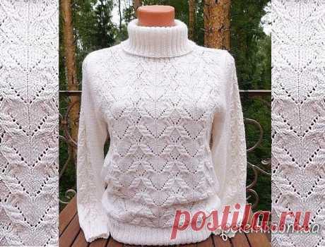 Теплые свитера и пуловеры со схемами » Страница 3