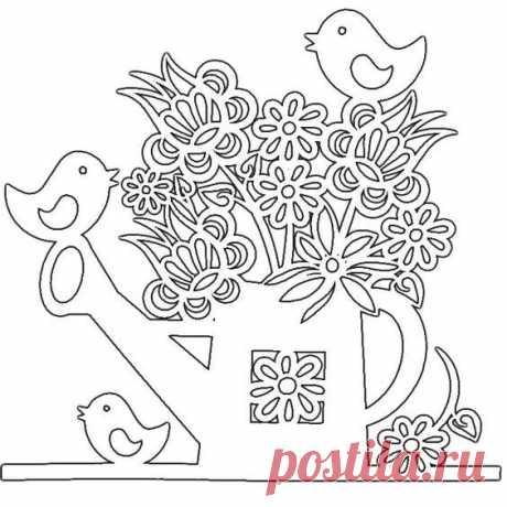 Трафареты на Пасху: 30 шаблонов для пасхального декора