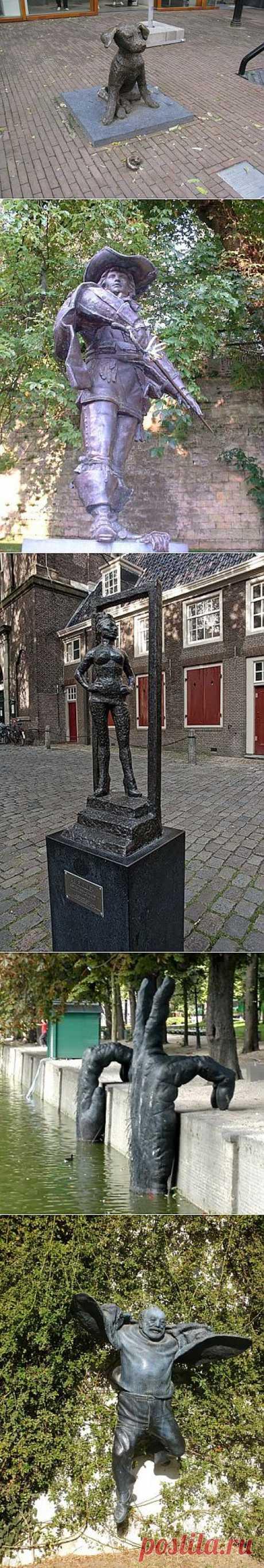 (+1) тема - Необычные скульптуры в Нидерландах | Непутевые заметки