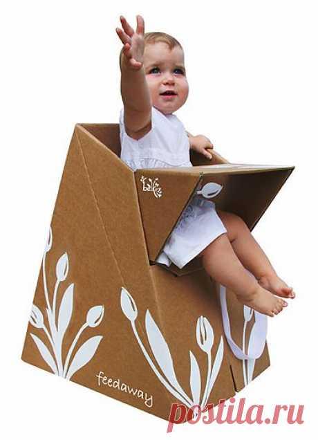 Безумная мебель из картона / Я - суперпупер
