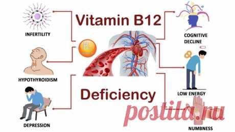 15 симптомов дефицита витамина В12 у женщин. Это очень опасно! — Мир фактов
