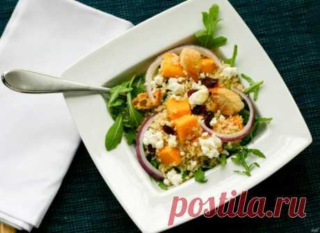 Кус-кус из цветной капусты с тыквой и мятой — Sloosh – кулинарные рецепты