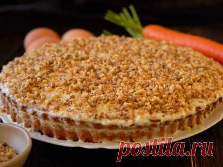 Гурман Герман Яркий, ароматный, вкусный морковный торт!