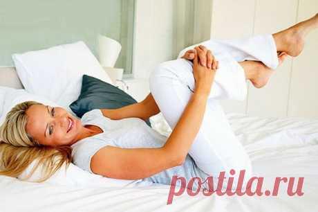 10 ejercicios útiles para las articulaciones, sin levantar de la cama