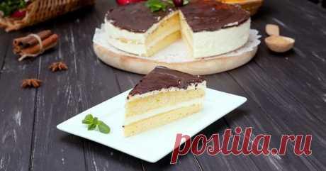 Кулинария>Торт «Небесные яблоки»