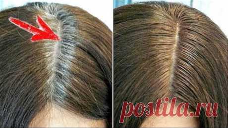 Одна КАПСУЛА, которая навсегда уберет СЕДИНУ с волос