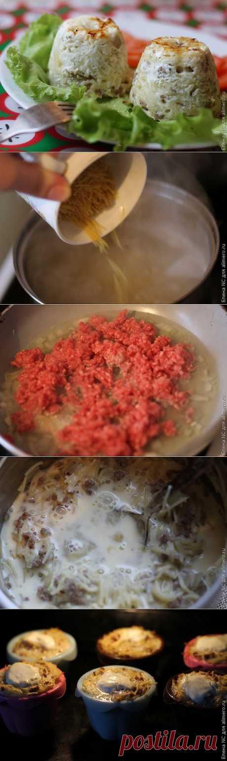 Вермишелевая запеканка / Рецепты с фото