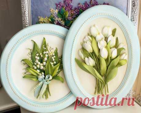 Ландыши и тюльпаны