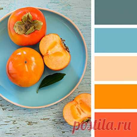 Оранжевый цвет в интерьере - учимся сочетать по правилам дизайна и палитрам Пантон
