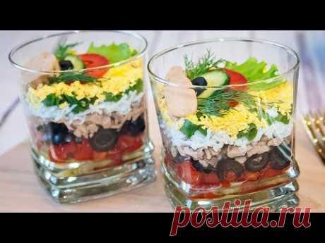 Авторский салат-коктейль «Гавань» - рецепт закуски на праздничный стол! Веррин с печенью трески