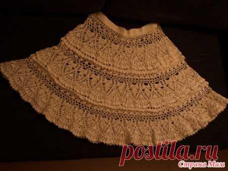 Юбка крючком - Вязание - Страна Мам