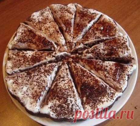 Лёгкий торт «Тает во рту» | Полезные советы домохозяйкам