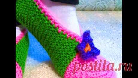 Самый простой и лёгкий способ вязание следков спицами. Для начинающих любителей вязания
