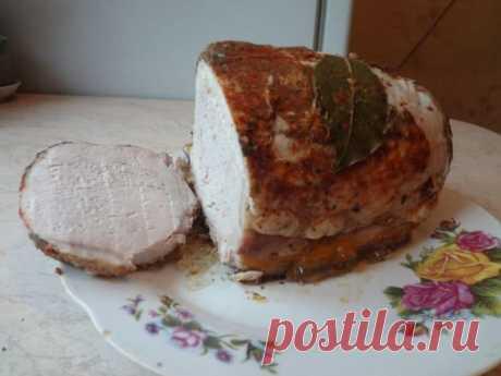 Попробуйте нежное томлёное мясо! Колбасу я уже давно не покупаю, перестанете и вы.