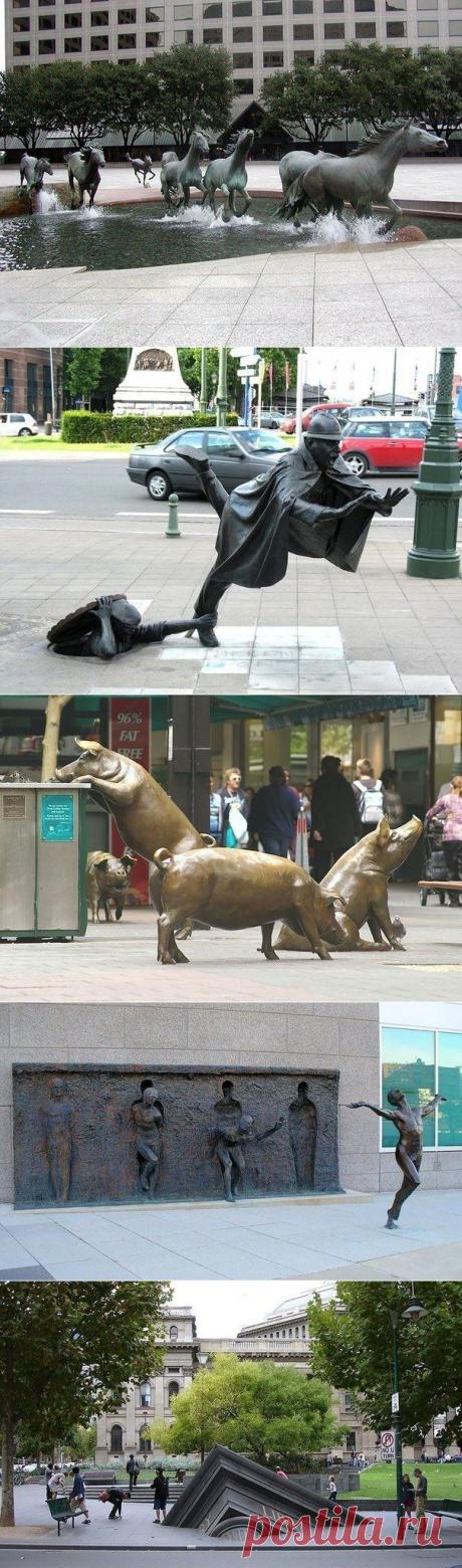 Творческие скульптуры — Убойный юмор