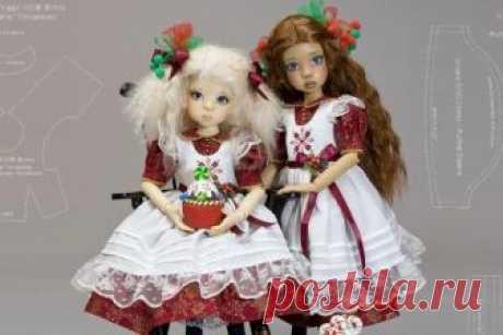Данный мастер-класс и выкройки предназначены для пошива одежды кукламKaye Wiggs, однако, если у вас есть любая кукла с похожими размерами, вам также подойдет данный МК. Кайе Виггс (Kaye Wiggs) &#8…