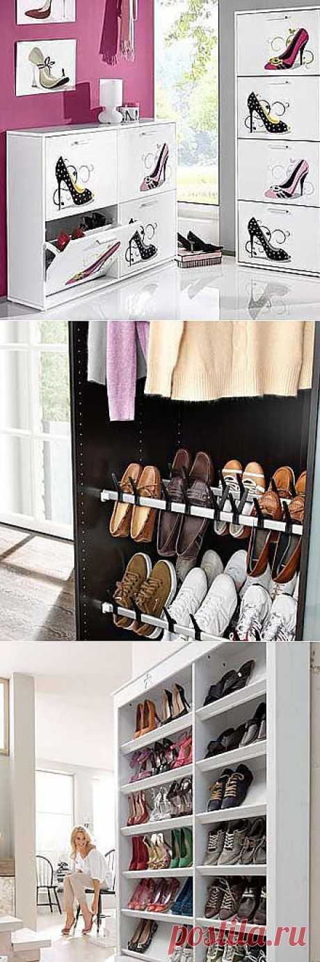 Шкаф для обуви: для тех, кто любит порядок в прихожей - Учимся Делать Все Сами