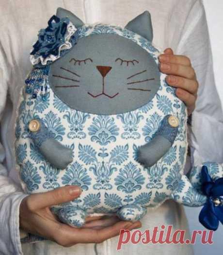 Коты-сплюшки / Вязание как искусство!
