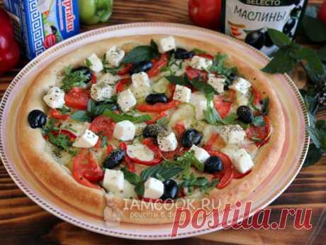 Греческая пицца