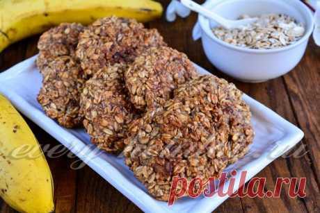 Постное овсяное печенье из овсяных хлопьев, рецепт с фото пошагово