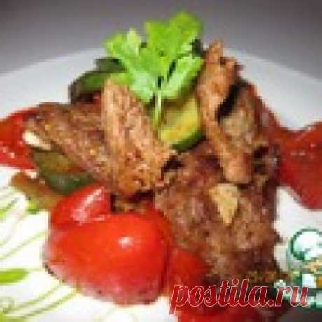 """Мясное блюдо уйгурской кухни """"Тархамяк сяй"""" Кулинарный рецепт"""